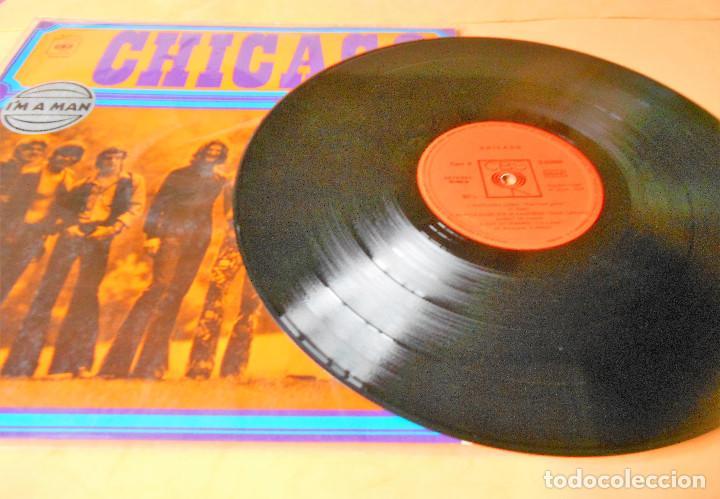 Discos de vinilo: CHICAGO.1. I'M A MAN. THE CHICAGO TRANSIT AUTHORITY. LP . CBS 1970 - Foto 4 - 122086607