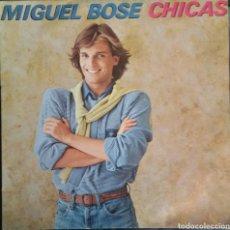 Discos de vinilo: MIGUEL BOSÉ. LP CHICAS. CBS 1979.. Lote 122089354