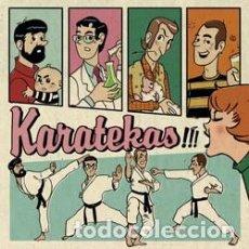 Discos de vinilo: KARATEKAS!!! DISCO DE 25 CMTS. CANTABRIC RECORDS THE SOUND OF YOUNG EUSKALHERRIA 2007. Lote 122091803