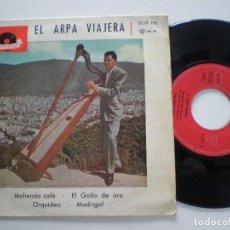 Discos de vinilo: HUGO BLANCO - EL ARPA VIAJERA+3 - EP POLYDOR ESPAÑA 1961. Lote 122092559