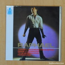 Discos de vinilo: RAPHAEL - TODAS LAS CHICAS ME GUSTAN + 3 - EP. Lote 122093862