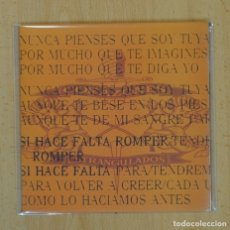 Discos de vinilo: CORAZONES ESTRANGULADOS - SI HACE FALTA / ROMPER - SINGLE. Lote 122095730