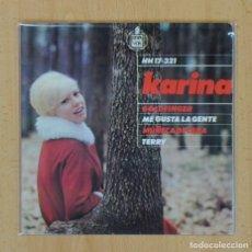 Discos de vinilo: KARINA - GOLDFINGER + 3 - EP. Lote 122097854