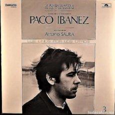 Discos de vinilo: PACO IBAÑEZ - LA POESIA ESPAÑOLA DE HOY Y DE SIEMPRE. Lote 122098007