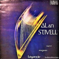 Discos de vinilo: DISCO VINILO LP ALAN STIVELL LEGENDE MOJENN LEGEND. Lote 122099575