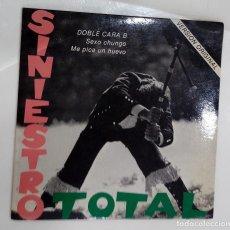 Discos de vinilo: SINIESTRO TOTAL - SEXO CHUNGO / ME PICA UN HUEVO - SG - GATEFOLD -ED. ESPAÑOLA 1983. Lote 122101103