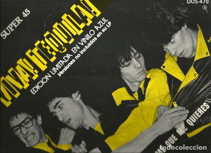 MAXI SUPER 45 : TEQUILA ( VIVA TEQUILA, EDICION LIMITADA EN VINILO AZUL ) ES SOLO UN DIA * DIME QUE (Música - Discos de Vinilo - Maxi Singles - Grupos Españoles de los 70 y 80)