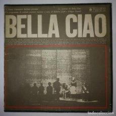 Discos de vinilo: 1965 IL NUOVO CANZONIERE ITALIANO BELLA CIAO I DISCHI DEL SOLE FOLK DISCOS POLÍTICOS EN ITALIANO. Lote 122102263