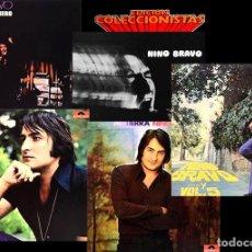 Discos de vinilo: NINO BRAVO DISCOGRAFÍA COMPLETA 5 LP'S EDICIÓN COLECCIONISTA POLYDOR (1980). Lote 122102919