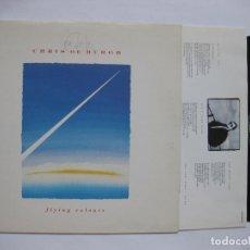 Discos de vinilo: CHRIS DE BURG - FLYING COLOURS. Lote 122104727
