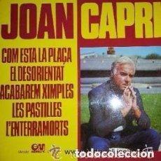Discos de vinilo: JOAN CAPRI , COM ESTA LA PLAÇA , LP GRAMUSIC 1976. Lote 122105087