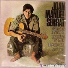 Discos de vinilo: JOAN MANUEL SERRAT: CANÇO DE MATINADA... EP EDIGSA 1966. Lote 122105879