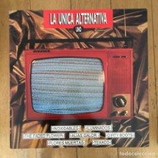 Discos de vinilo: LA ÚNICA ALTERNATIVA - RECOPILATORIO INDIE. Lote 122105955