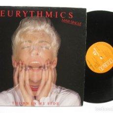 Discos de vinilo: EURYTHMICS - THORN IN MY SIDE. Lote 122108467
