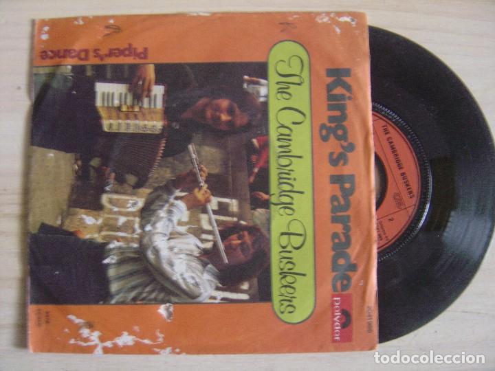 THE CAMBRIDGE BUSKERS - KING´S PARADE + PIPER'S DANCE - SINGLE ALEMAN 1978 - POLYDOR (Música - Discos - Singles Vinilo - Country y Folk)