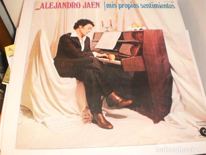 LP ALEJANDRO JAÉN. MIS PROPIOS SENTIMIENTOS. NOVOLA 1978 SPAIN CARPETA DOBLE. PROBADO Y BIEN (Música - Discos - LP Vinilo - Solistas Españoles de los 70 a la actualidad)