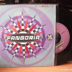 Discos de vinilo: FANGORIA EN MI PRISION SINGLE SPAIN 1990 PDELUXE. Lote 122123551