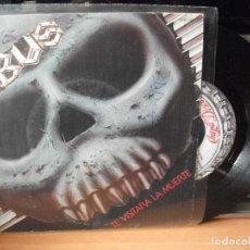 Discos de vinilo: OBUS TE VISITARA LA MUERTE SINGLESPAIN 1985 PDELUXE. Lote 122124899