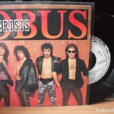 Discos de vinilo: OBUS CRISIS SINGLES PAIN 1987 PDELUXE. Lote 122125439