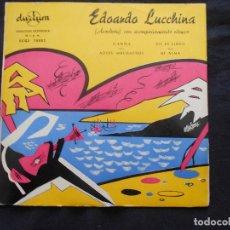 Discos de vinilo: EDOARDO LUCCHINA ACORDEON // GARUA +3. Lote 122129019
