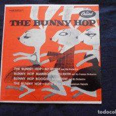 Discos de vinilo: RAY ANTHONY - DUKE ELLINGTON - CLIFFIE STONE // THE BUNNY HOP. Lote 122130175