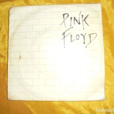Discos de vinilo: PINK FLOYD. ANOTHER BRICK IN THE WALL / ONE OF MY TURNS. HARVEST, 1979. IMPECABLE. Lote 122130331