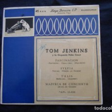 Discos de vinilo: TOM JENKINS // FASCINACION + 3. Lote 122130335