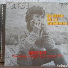 Discos de vinilo: ** MICKY - EL CHICO DE LA ARMONICA / SIGUEME - SG AÑO 1971. Lote 122130767