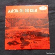 Discos de vinilo: H.M. GRENADIER // MARCHA DEL RIO KWAI. Lote 122130863