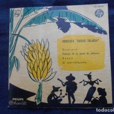 Discos de vinilo: ORQUESTA CIUDAD TRUJILLO // GUARARE + 3. Lote 122131895