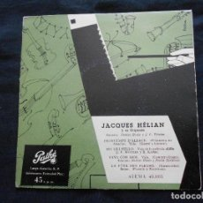 Discos de vinilo: JACQUES HELIAN Y SU ORQUESTA. Lote 122132963