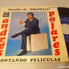 Discos de vinilo: ANDRES PAJARES SINGLE REGAL 1968 BUENA CONSERVACION. Lote 122134143