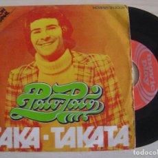 Discos de vinilo: PACO PACO TAKA TAKATA + OLE ESPAÑA - SINGLE MOVIEPLAY 1972. Lote 122136563