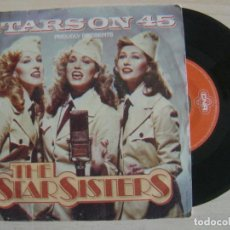 Discos de vinilo: STARS ON 45 PROUDLY PRESENTS THE STAR SISTERS -THE STAR SISTERS - SINGLE ESPAÑOL 1983 - CNR. Lote 122136883