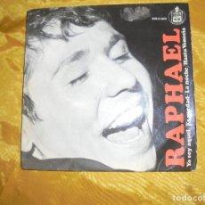 Discos de vinilo: RAPHAEL. YO SOY AQUEL + 3. EP. HISPAVOX 1966. Lote 122137207