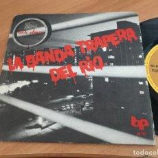 Discos de vinilo: LA BANDA TRAPERA DEL RIO (LA REGLA /LA CLOACA) SINGLE ESPAÑA 1978 (EPI11). Lote 122138359