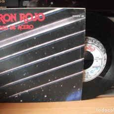 Discos de vinilo: BARON ROJO CUERDAS DE ACERO SINGLE SPAIN 1985 PDELUXE. Lote 122142531