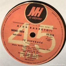 Discos de vinilo: SENCILLO ARGENTINO DE AIXA BARRETO AÑO 1977. Lote 122151059