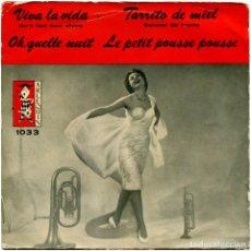 Discos de vinilo: VVAA – VIVA LA VIDA (QU'IL FAIT BON VIVRE) - EP SPAIN 1960 - ARLEQUIN 1033 - NICO GOMEZ ORQUESTA. Lote 122155287