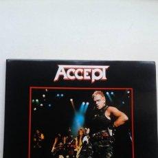Discos de vinilo: ACCEPT STAYING A LIFE (DOBLE LIVE). Lote 122156787
