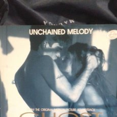 Discos de vinilo: UNCHAINED MELODY FROM THE ORIGINAL MOTION PICTURE SOUNDTRACK GHOST (MAURICE JARRE). Lote 122157143