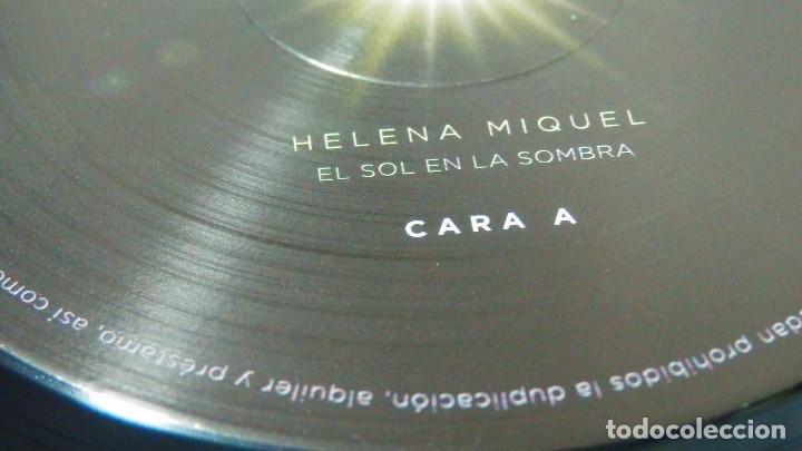Discos de vinilo: HELENA MIQUEL / Delafé y las Flores Azules * LP VINILO * El Sol En La Sombra * Ltd Precintado - Foto 3 - 124159914