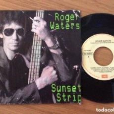 Discos de vinilo: ROGER WATERS SUNSET TRIP EDIC ESPAÑA 1987 PORTADA DETERIORADA. Lote 122158671