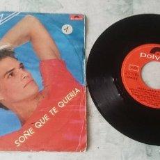 Discos de vinilo: PEDRO MARÍA SÁNCHEZ : SOÑÉ QUE TE QUERÍA / VOY A MI PASO (POLYDOR 1979). Lote 122159287