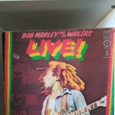 Discos de vinilo: BOB MARLEY AND THE WAILERS. LP LIVE!. Lote 122161248