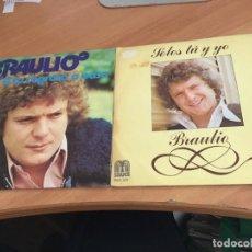 Discos de vinilo: BRAULIO ( A TU REGRESO A CASA / SOLOS TU Y YO) SINGLE ESPAÑA (EPI11). Lote 122163499