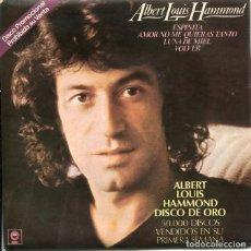 Discos de vinilo: ALBERT LOUIS HAMMOND / ESPINITA + 3 (EP PROMOCIONAL 1979). Lote 122163651