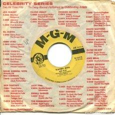 Discos de vinilo: BOB RILEY / WANDA JEAN / THE MODNIGHT LINE (SINGLE ORIGINAL USA). Lote 122164563