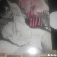 Discos de vinilo: DESPERATE ROCK AND ROLL! VOL.NINE LP FLAME ALL KILLER NO FILLER DENNIS EMITH BUDDY LARRISON. Lote 122164667