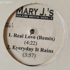 Discos de vinilo: MARY J. BLIGE - MARY J.'S CLUB HITS VOL. 1 - 1995. Lote 122165591